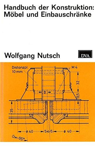 9783421022752: Handbuch der Konstruktion: Möbel und Einbauschränke