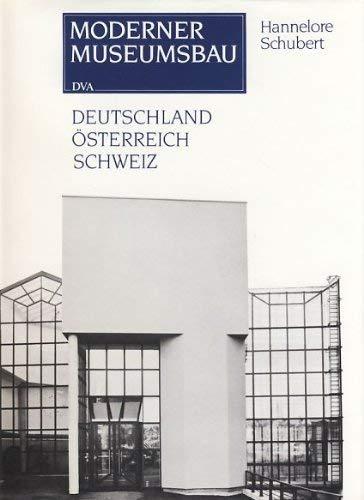 9783421028754: Moderner Museumsbau: Deutschland, Österreich, Schweiz (German Edition)