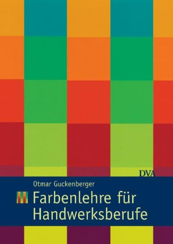 9783421033666: Farbenlehre für Handwerksberufe