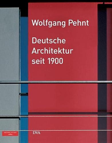 9783421034380: Deutsche Architektur seit 1900