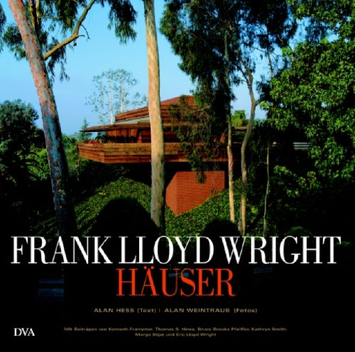 9783421035929: Frank Lloyd Wright - Häuser