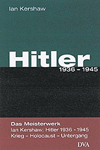 9783421051325: Hitler 1936 - 1945