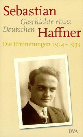9783421054098: Geschichte Eines Deutschen