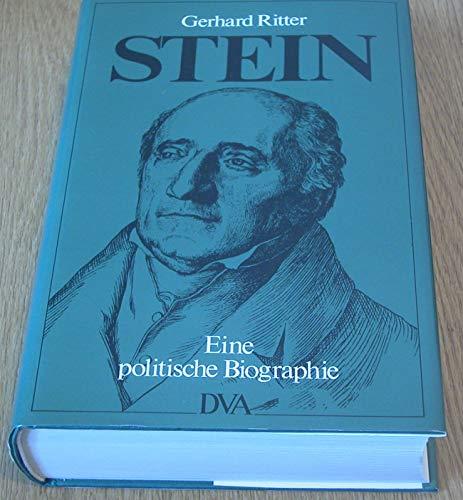 9783421060570: Stein. Eine politische Biographie