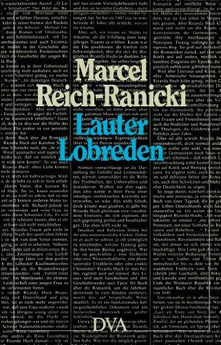 Lauter Lobreden: Reich-Ranicki, Marcel