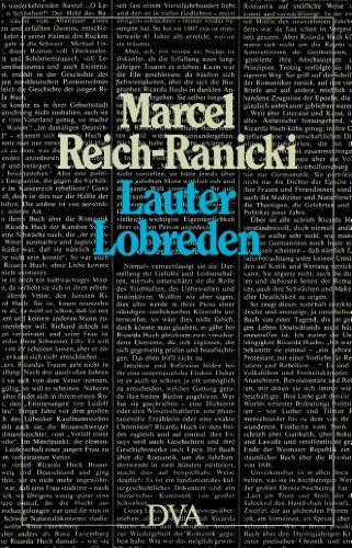 9783421062826: Lauter Lobreden