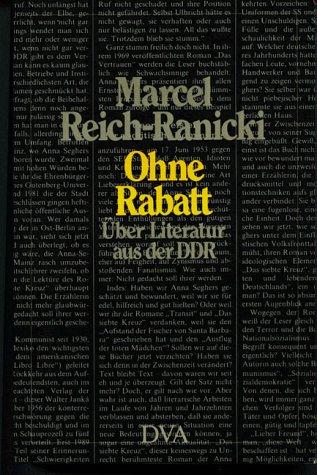 9783421066114: Ohne Rabatt: über Literatur aus der DDR