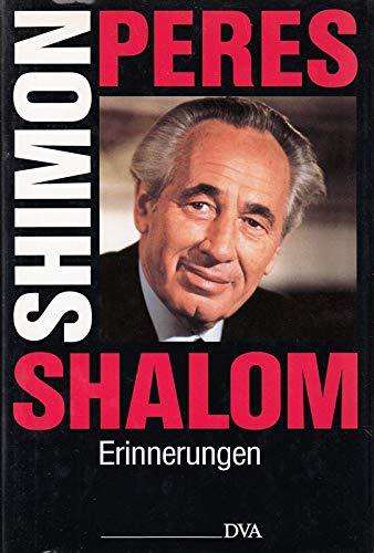 9783421066855: Shalom - Erinnerungen