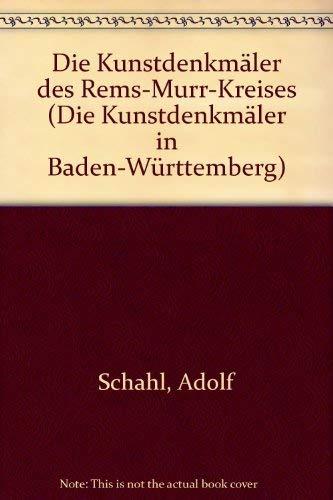 9783422005600: Die Kunstdenkmäler des Rems-Murr-Kreises (Die Kunstdenkmäler in Baden-Württemberg)