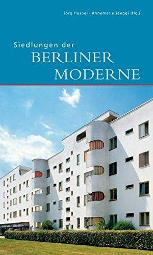 9783422020917: Siedlungen der Berliner Moderne