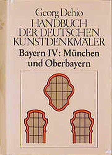 9783422030107: Handbuch der deutschen Kunstdenkm�ler