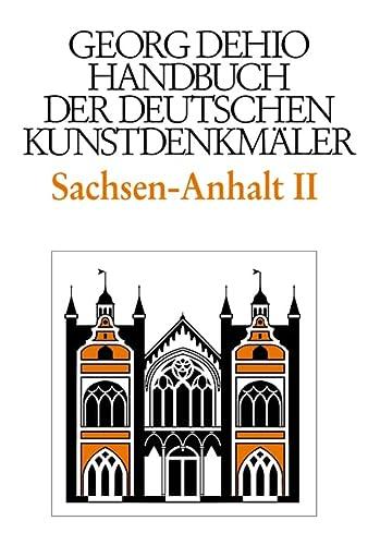 Sachsen-Anhalt 2. Regierungsbezirke Dessau und Halle: Georg Dehio