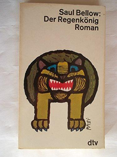 9783423001939: Der Regenkönig.. Roman.