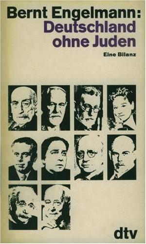 9783423009799: Deutschland ohne Juden: Eine Bilanz (German Edition)