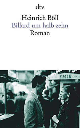 9783423009911: Billard Um Halb Zehn (German Edition)