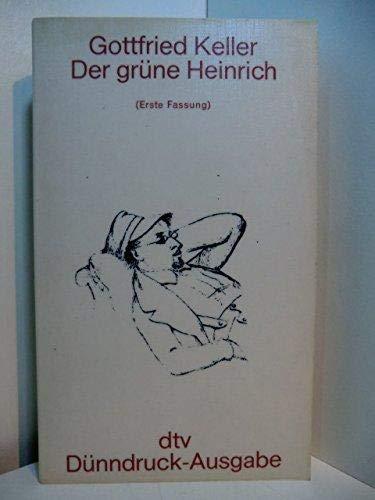 9783423020343: Der Grune Heinrich (Erste Fassung)