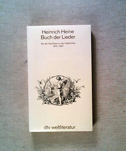 9783423021128: Buch der Lieder