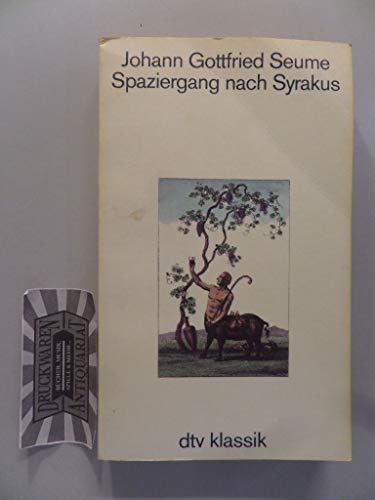 9783423021494: Spaziergang nach Syrakus