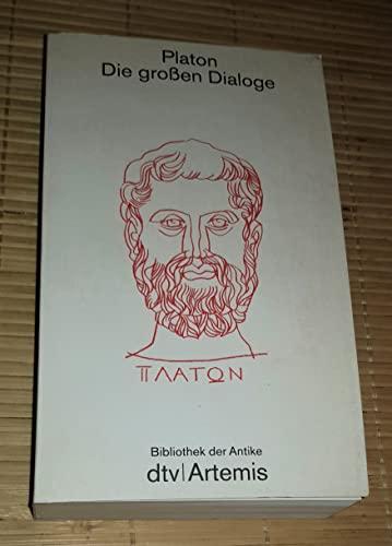 9783423022651: Die grossen Dialoge, Bd 2265