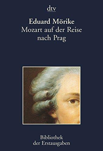 9783423026161: Mozart auf der Reise nach Prag: Stuttgart und Augsburg 1856