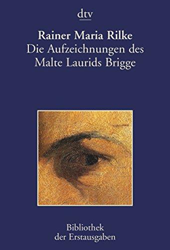 9783423026192: Die Aufzeichnungen des Malte Laurids Brigge: Leipzig 1910