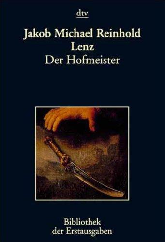 9783423026215: Der Hofmeister oder Vortheile der Privaterziehung: Leipzig 1774