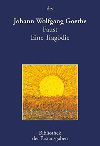 9783423026239: Faust: Eine Tragödie