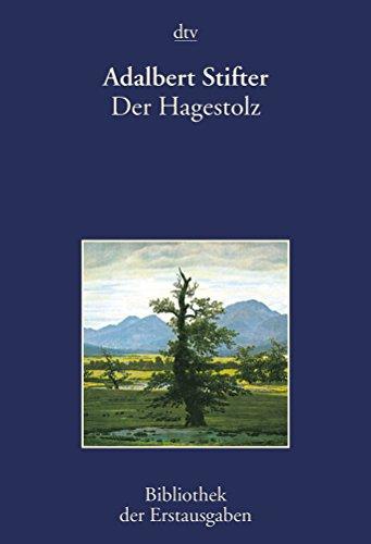9783423026628: Der Hagestolz: Pesth 1844/45