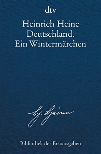 9783423026796: Deutschland. Ein Winterm�hrchen: Hamburg 1844