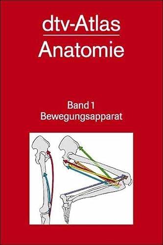 9783423030175: dtv-Atlas der Anatomie 1. Bewegungsapparat ...