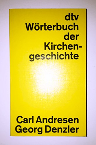 9783423032452: dtv-Wörterbuch der Kirchengeschichte
