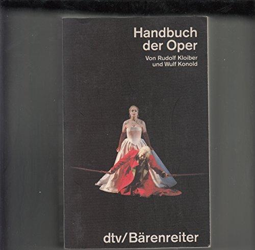 9783423032971: Handbuch der Oper