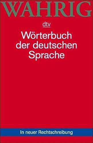 9783423033664: Worterbuch Der Deutschen Sprache (German Edition)