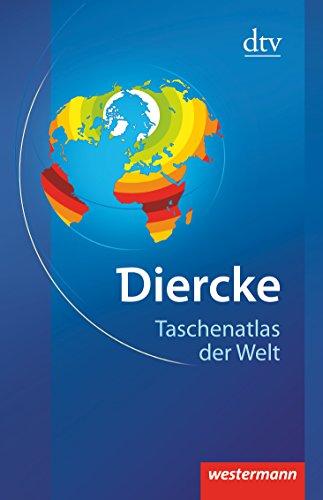 9783423034005: Diercke - Taschenatlas der Welt: Physische und politische Karten