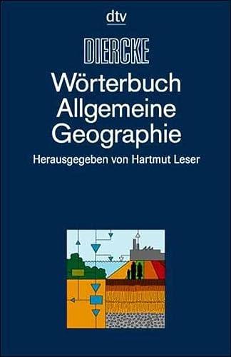 9783423034210: Diercke - Wörterbuch Allgemeine Geographie.
