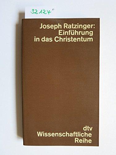 9783423040945: Einführung in das Christentum.
