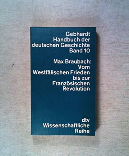 9783423042109: Handbuch der deutschen Geschichte.