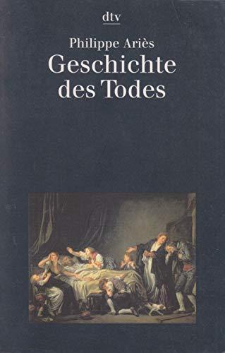 Beispielbild für Geschichte des Todes. zum Verkauf von medimops