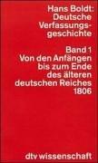9783423044240: Deutsche Verfassungsgeshichte (dtv)
