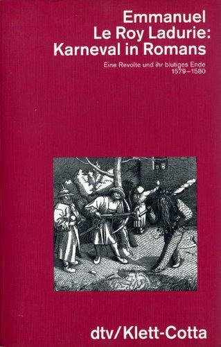 9783423044981: Karneval in Romans. Von Lichtmess bis Aschermittwoch 1579-1580