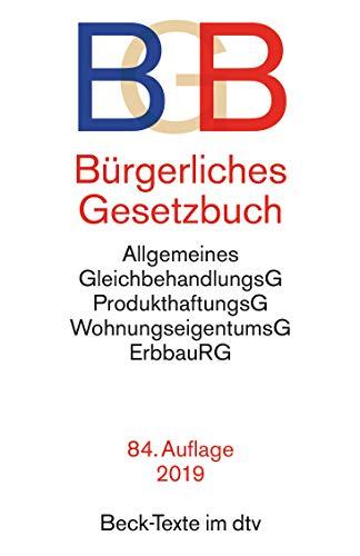 9783423050012: Bürgerliches Gesetzbuch (BGB). Textausgabe mit ausführlichem Sachverzeichnis: BGB-Informationspflichten-Verordnung, Allgemeinem ... Rechtsstand: 15. Januar 2015