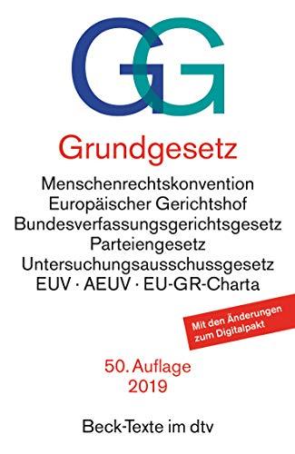 9783423050036: Grundgesetz (Beck-Texte im dtv) (German Edition)