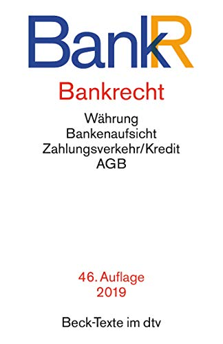 9783423050210: Bankrecht (BankR): Rechtsstand: 1. Januar 2015