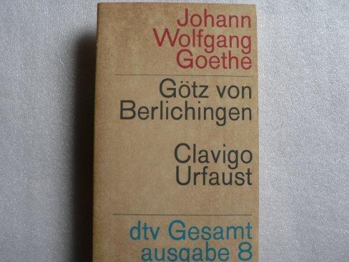 9783423051088: Götz von Berlichingen / Clavigo / Urfaust.