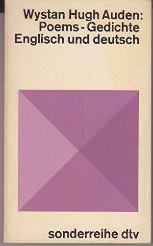 Gedichte = Poems (Deutscher Taschenbuch Verlag) (3423054360) by W. H Auden