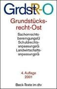 9783423055802: Grundstücksrecht Ost