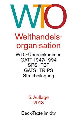 9783423057523: WTO - Welthandelsorganisation.