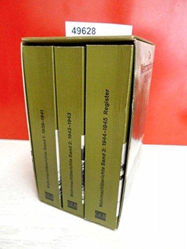 Die Wehrmachtsberichte 1939 - 1945. ( dtv: unknown