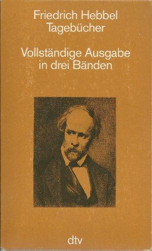 9783423059473: Tagebücher. Vollständige Ausgabe in drei Bänden
