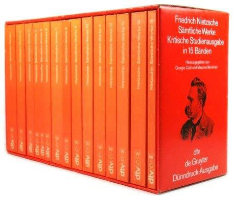 9783423059770: Sämtliche Werke: Kritische Studienausgabe in 15 Bänden (German Edition)